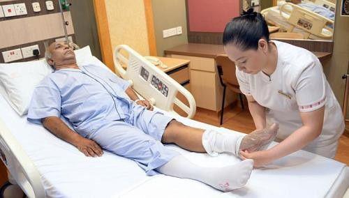 جوراب-واریس-مراقبت های پس از جراحی