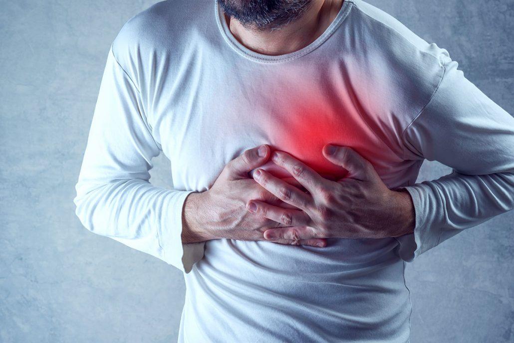 درد قلبی