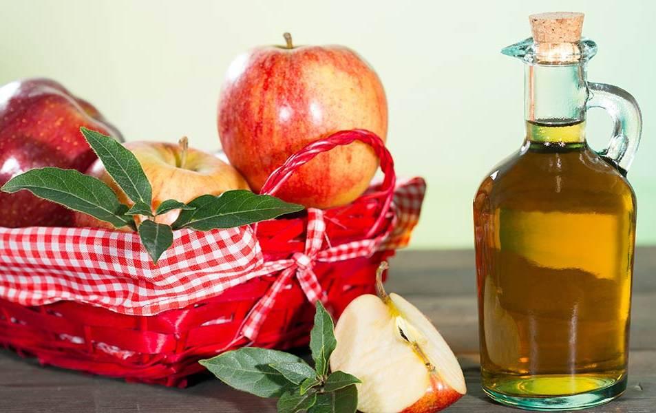 درمان لخته خون با سرکه سیب