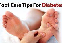 مراقبت از پا در بیماران دیابتی