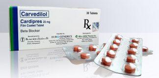 عوارض مصرف کارودیلول