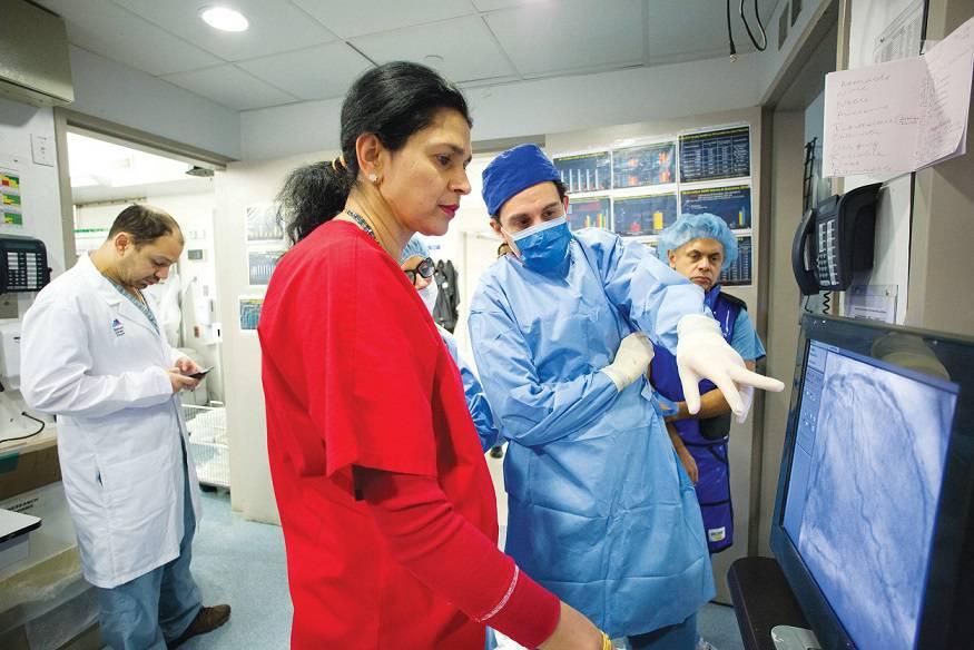 عوارض آنژیوگرافی