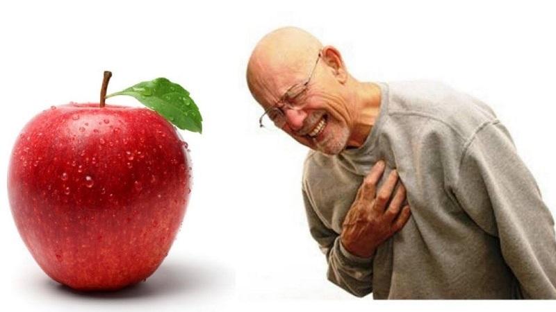 سیب برای کاهش حملات قلبی