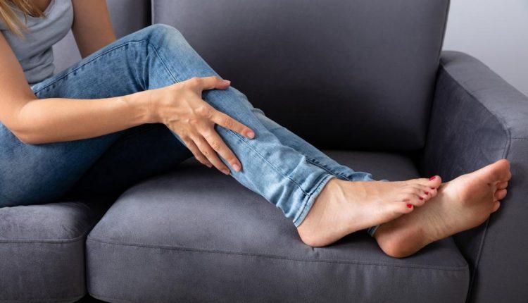 پیشگیری سفت شدن ماهیچه پشت ساق پا