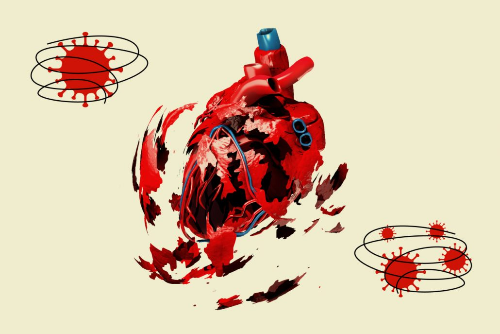 ویروس کرونا و آسیب قلب