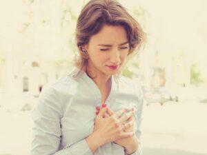 سکته قلبی در زنان جوان