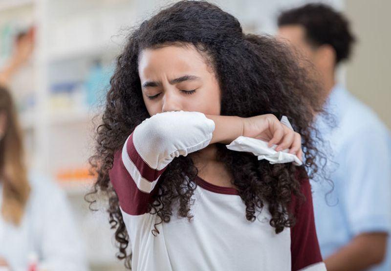 تشخیص حساسیت ریه و سرفه