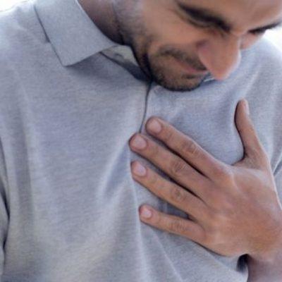 درد قفسه سینه و تنگی نفس